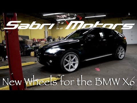 WE PUT NEW NEW WHEELS ON THE BMW X6?!!