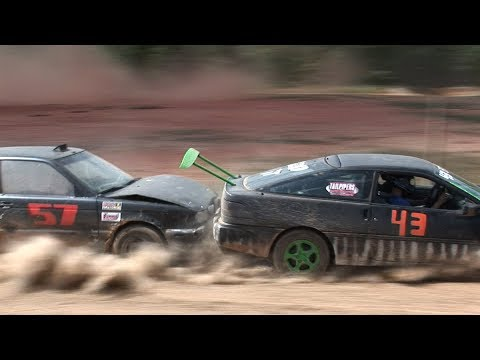 RACING Junk Cars For CASH !!! - Redneck Rallycross Highlights