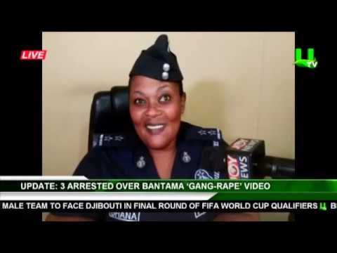 Police Arrested 3 Over Bantama Gang Rape Video Trending On Social Media