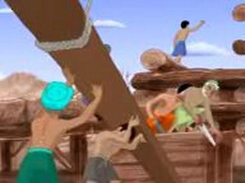 Cerita nabi nuh  membuat kapal besar  kisah teladan