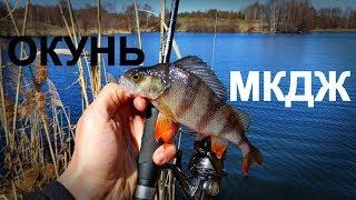 ЗА ОКУНЕМ ПОСЛЕ СХОДА ЛЬДА   Микроджиг и мормышинг - Рыбалка со stigan