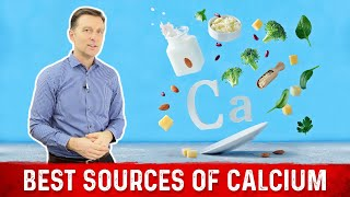 Best Sources of Calcium Explained By Dr.Berg