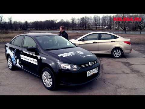 Hyundai  Accent Седан класса B - тест-драйв 5