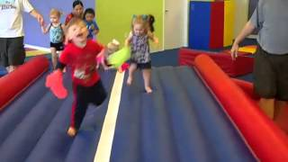 At The Little Gym, Children Ages 10-36 Months...