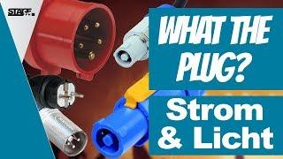 Veranstaltungstechnik Stecker | Strom und Licht (CEE, Powerlock, PowerCon) | stage.basic