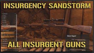 ALL Insurgency Sandstorm INSURGENT ASSETS + WEAPONS - Insurgency Sandstorm Gameplay [Beta One]