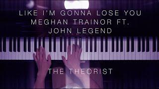 Meghan Trainor ft. John Legend - Like I'm Gonna Lose You | The Theorist Piano Cover