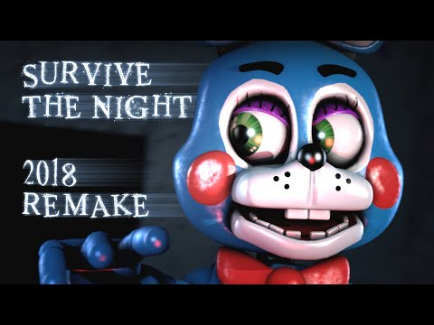 [SFM FNAF] Survive the Night - FNaF 2 Song by MandoPony 2018 REMAKE [200K SUBSCRIBERS!]