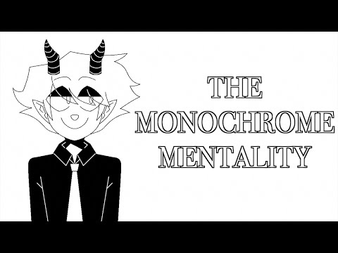 【vflower / Gumi English / Maika】The Monochrome Mentality 【VOCALOID Original Song】