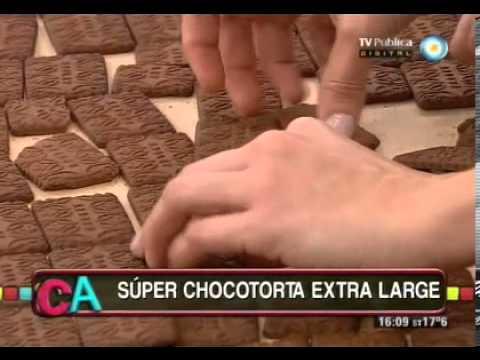 Chocotorta gigante Parte 1
