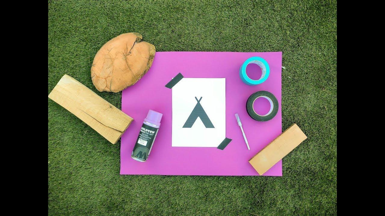 2 Easy DIY camp signs