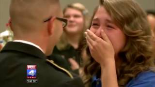 Download Youtube: Soldier Father Surprises Daughter at Veteran's Day Assembly in Independence School District