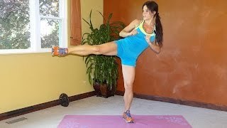 Full Body Sweat: 15 Minute HIIT (body weight workout) by Melissa Bender