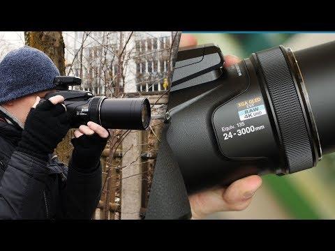 Nikon Coolpix P1000 im Test - Rekord-Zoom-Kamera | CHIP