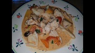 Курица По-Тайски / Thai Chicken Recipe / Курица с Овощами / Тайский Рецепт (Вкусно и Быстро)