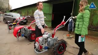 Мотоблок Мотор Сич МБ-6 бензин от компании ПКФ «Электромотор» - видео 1