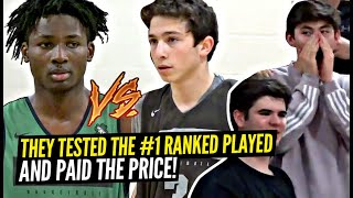 #1 Ranked Player vs 5'7 UNEXPECTED CHALLENGER!! NEVER Chant OVERRATED To #1 RANKED JONATHAN KUMINGA!