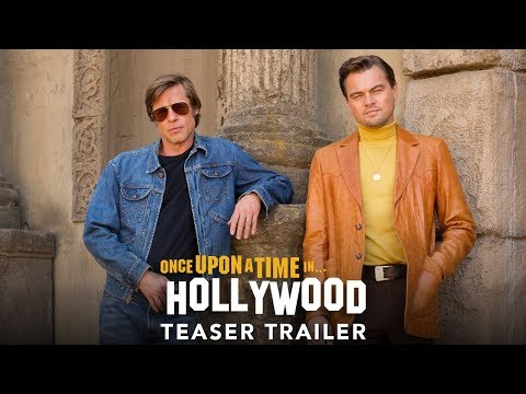 Once Upon a Time in Hollywood Teaser Trailer