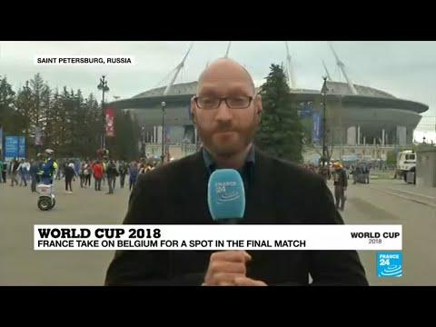 Tensions mount as France, Belgium prepare for semi-final match