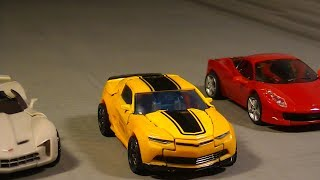 Transformers: DoTM Highway Chase and Mexican Standoff stop-motion