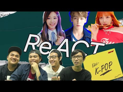 Download Non Kpoppers React To K Pop Bts Blackpink Twice