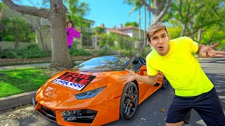 Mystery Lamborghini Shows Up At My House!! (Who Owns this Supercar?)
