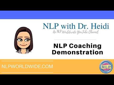 NLP Coaching Demonstration - YouTube