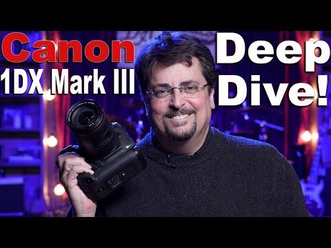 External Review Video SchIaD6V8ZM for Canon EOS-1DX Mark III Full-Frame DSLR Camera