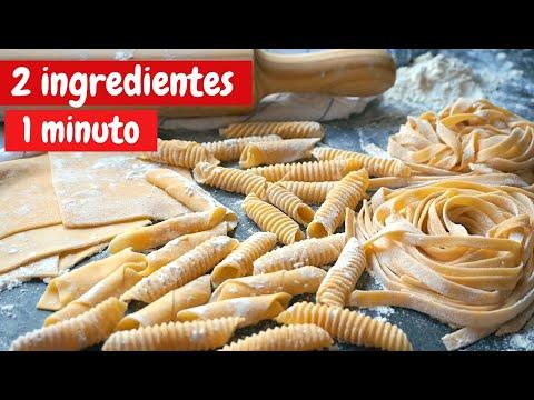 Pasta Fresca Con Solo Dos Ingredientes