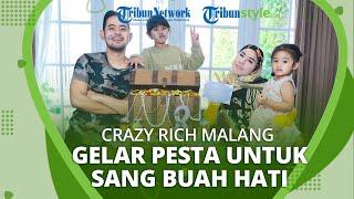 Seusai Rayakan Ulang Tahun Shandy Purnamasari, Kini Crazy Rich Malang Gelar Pesta untuk Buah Hati