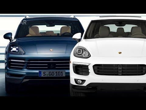 Sự khác biệt giữa Porsche Cayenne thế hệ mới và cũ