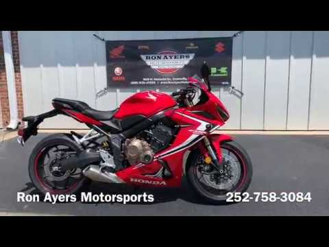 2019 Honda CBR650R in Greenville, North Carolina - Video 1