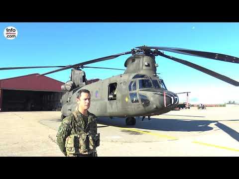 Conozca todos los detalles del Bheltra V de las Famet que opera los CH-47 Chinook