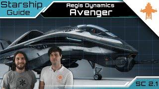 Star Citizen Schiffe - Avenger Stalker Aegis Dynamics   Schiff Guide [Deutsch/German]