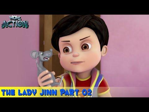 Kids Shows   Vir The Robot Boy   Animated Series   Hindi Cartoon For Kids   The Lady Jinn - 2
