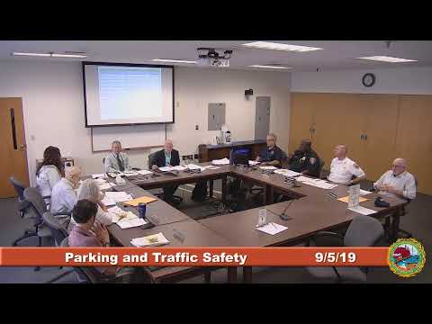 Parking and Traffic Safety Committee 9.5.2019