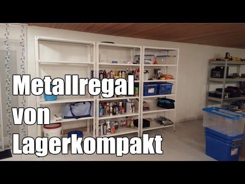 Schraubregal Metallregal von Lagerkompakt metoo 83