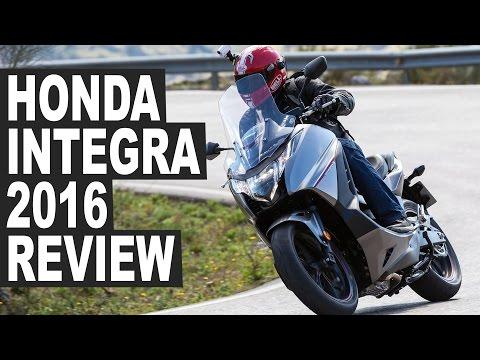 Honda Integra 2016 Motorcycle Review