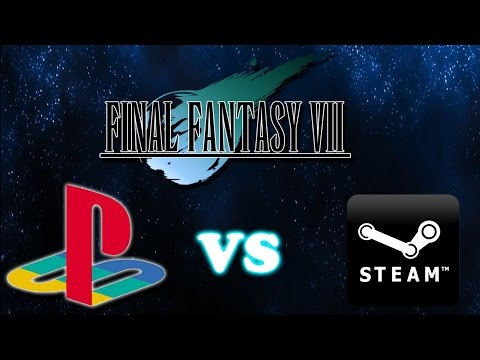 [Battle of the Ports] - Final Fantasy VII Playstation vs PC(Steam)