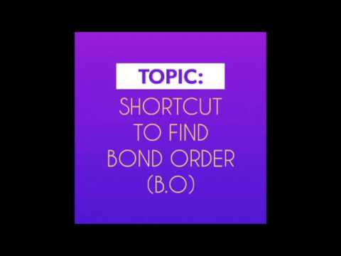 Chemical Bonding - A Short Cut Method