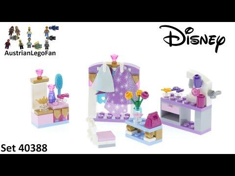 Vidéo LEGO Disney 40388 : Kit de déguisement de mini-poupée