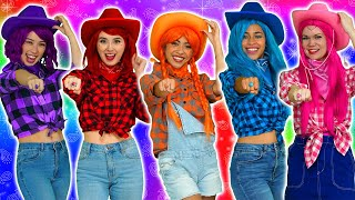 THE SUPER POPS COWGIRLS BETRAYED BY DOODLER'S MAGIC SPELL? Totally TV Originals.