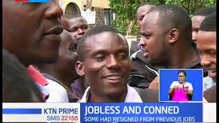 More than 300 youths conned in a job seekers scam