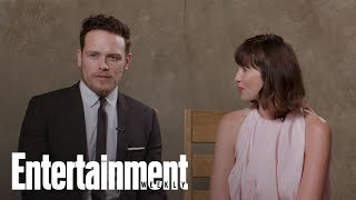 'Outlander' Stars On Jamie & Claire's Opportunities, Struggles In Season 4 | Entertainment Weekly