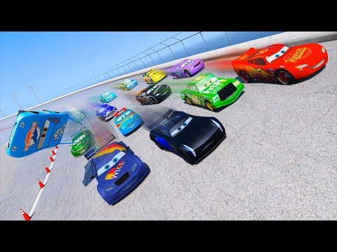 Race Cars 3 McQueen Jackson Storm Max Schnell Chick Hicks & Friends Disney Pixar Cars Driven To Win