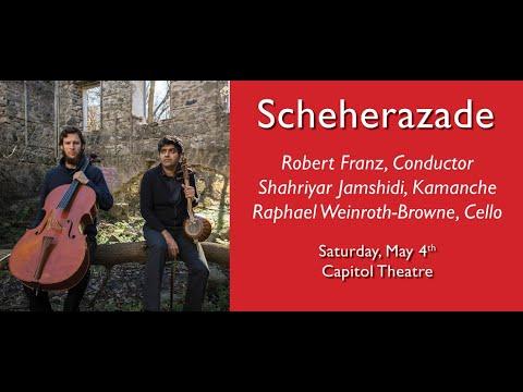 Convergence Concerto, Pre-concert Talk, Robert Franz with Kamancello | Windsor Symphony Orchestra