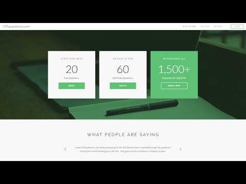 CFPquestions.com   CFP Exam Prep Question Bank - YouTube