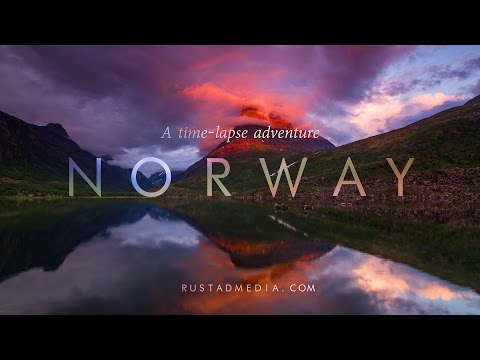norway a time lapse adventure 4k