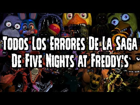 Todos Los Errores De La Saga De Five Nights At Freddy's