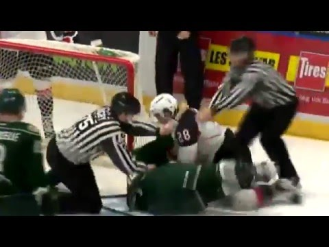 Dawson Leedahl vs. Josh Anderson